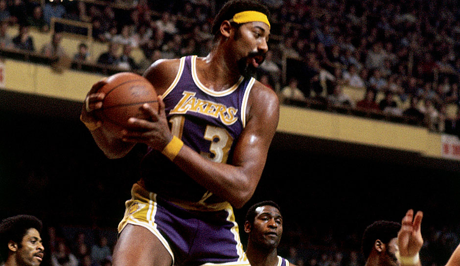 Platz 1: Wilt Chamberlain. 118-mal in 1045 Spielen (Philadelphia/San Francisco Warriors, Philadelphia 76ers, Los Angeles Lakers)