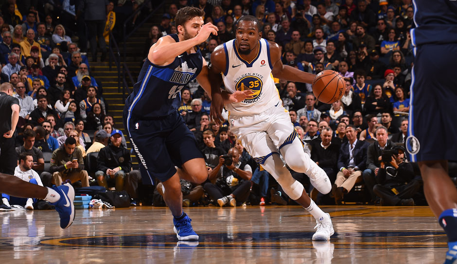 Kevin Durant (Golden State Warriors): 54 Punkte
