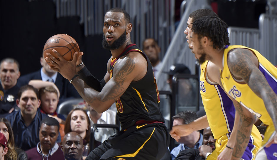 LeBron James (Cleveland Cavaliers): 53,8 Punkte