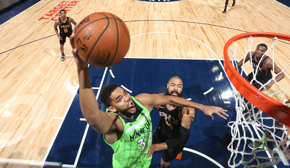 Karl-Anthony Towns (Minnesota Timberwolves): 62,8 Punkte