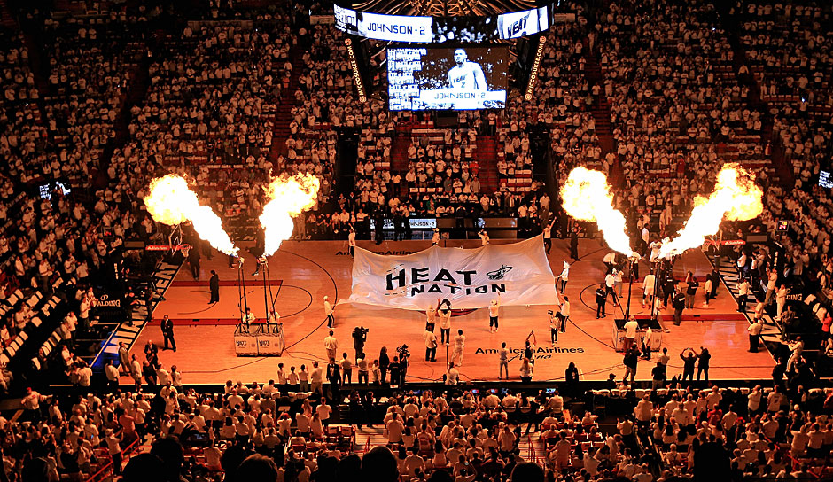 Platz 10: Miami Heat - 1,7 Milliarden Dollar