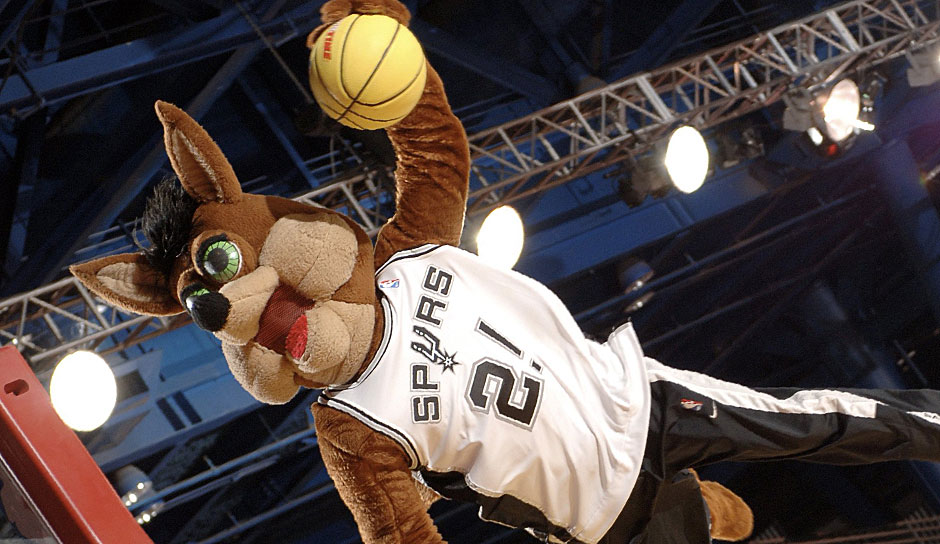 Platz 11: San Antonio Spurs - 1,55 Milliarden DOllar