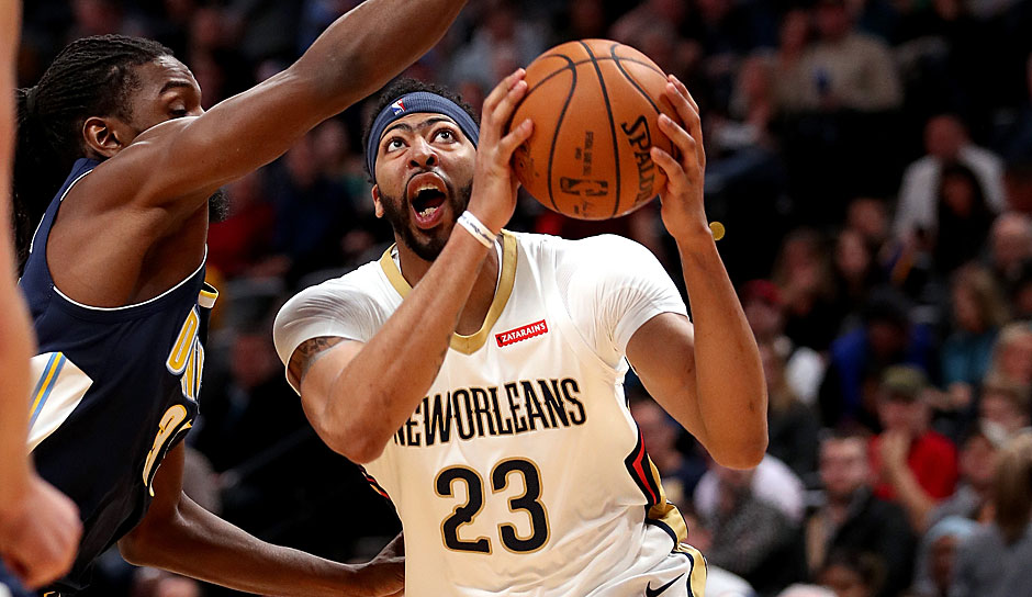 New Orleans Pelicans: Anthony Davis (2012-heute) - 8.702 Punkte (Stand: 03. Februar 2018)