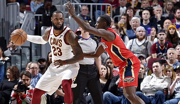 Basketball: James stellt Rekord von Jordan ein