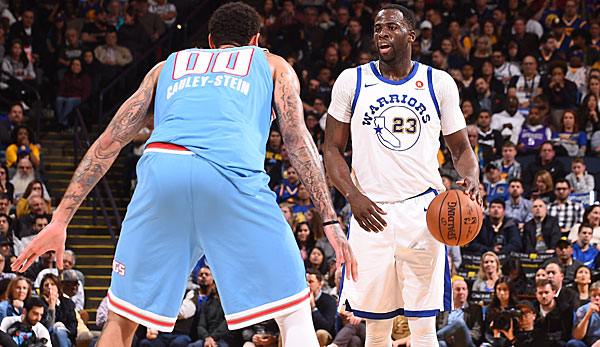 Draymond Green war der einzige All-Star der Golden State Warriors