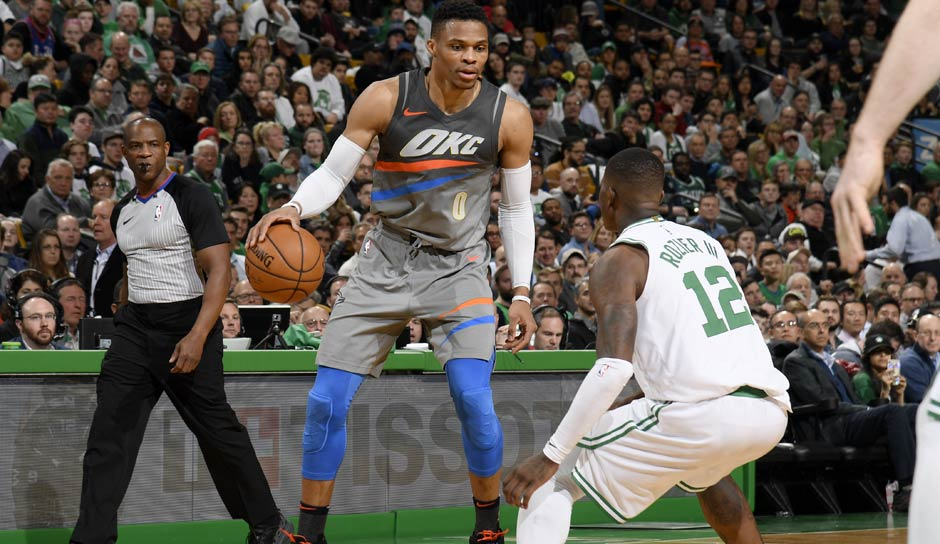 Russell Westbrook (OKC Thunder): 72,8 Punkte