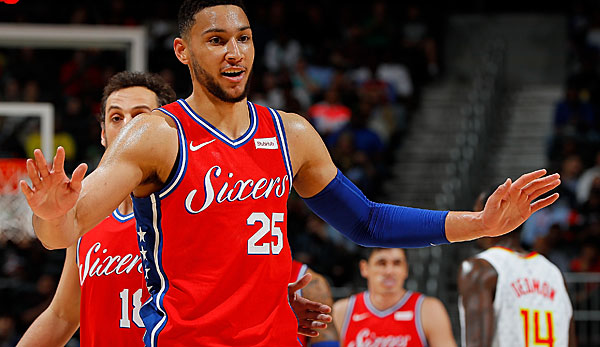 Ben Simmons sieht als Favoriten auf den Rookie of the Year