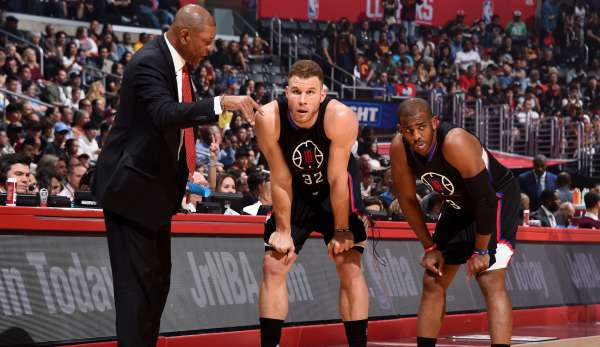 Doc Rivers trainiert seit 2013 die Los Angeles Clippers