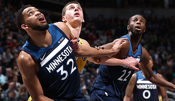 Nba Timberwolves Vs Nuggets Der Showdown Um Den