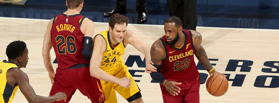 NBA Playoffs, Indiana Pacers, Cleveland Cavaliers