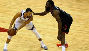 Stephen Curry trifft auf James Harden