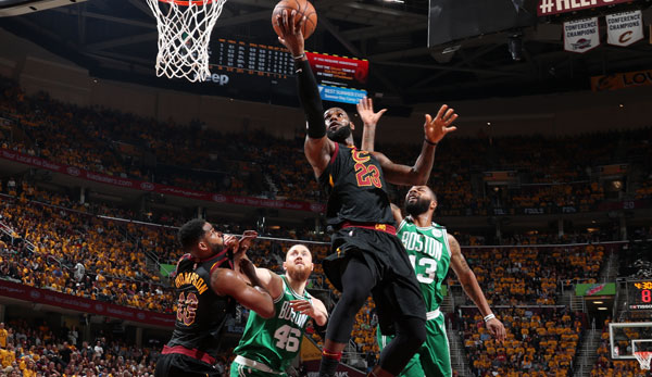 LeBron James war in Spiel 3 in Topform.