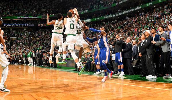 Celtics fordern LeBron James und die Cavs