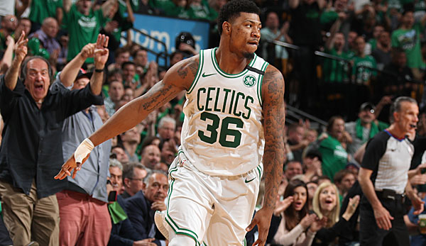 Marcus Smart wird im Sommer Restricted Free Agent.