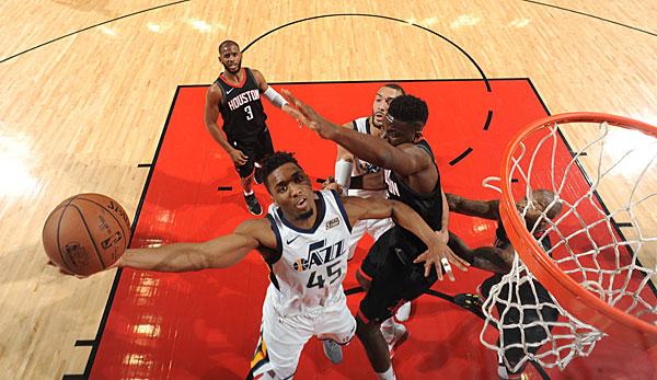 Utah Jazz siegte in Houston und stellte auf 1:1