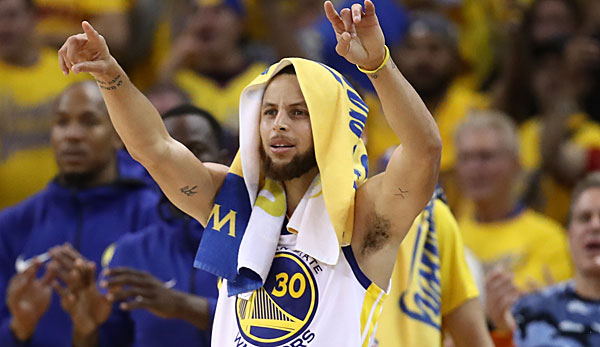 Stephen Curry war in seiner Karriere noch nie Finals MVP