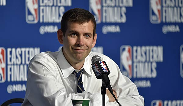 Brad Stevens ist seit 2013 Head Coach der Boston Celtics.