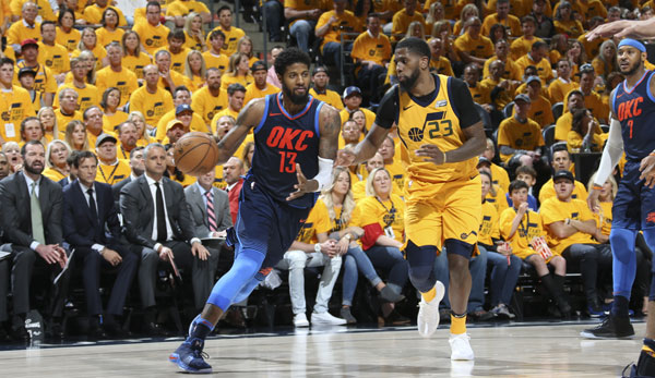 Paul George wird Unrestricted Free Agent.