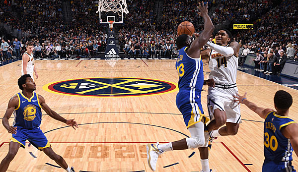 Die Denver Nuggets schlagen nach einem irren Finish die Golden State Warriors