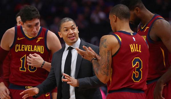 Nba News Cleveland Cavaliers Entlassen Head Coach Tyronn Lue