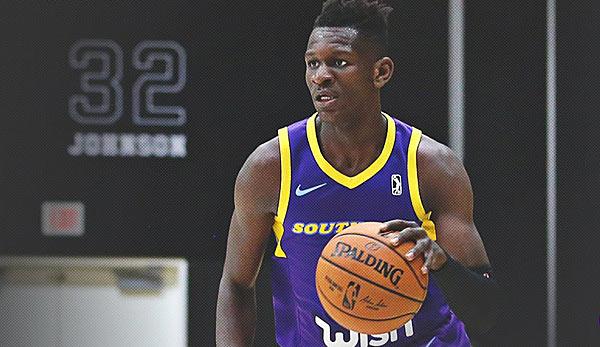 909bc3890 NBA G-League  Starker Isaac Bonga reicht den South Bay Lakers nicht zum Sieg