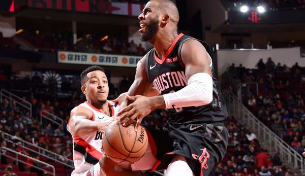 Chris Paul führte die Second Unit der Houston Rockets stark an.