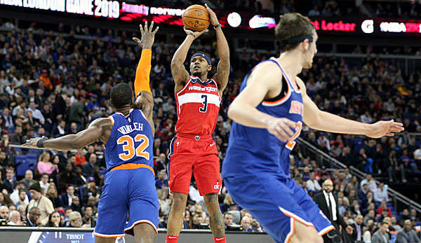NBA Spielbericht: Irrer Krimi in London! Wizards schaffen Comeback-Sieg