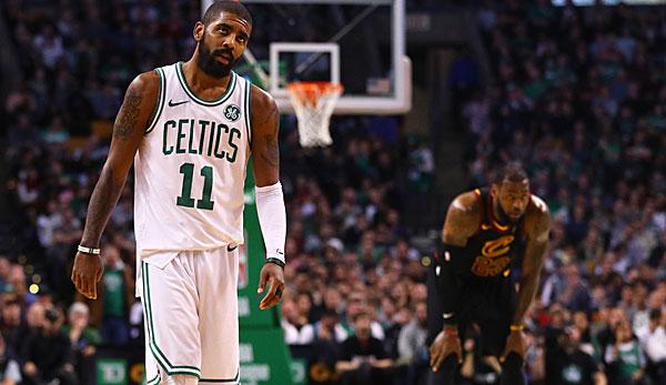 a0119b2c766a NBA  Die Gerüchte um Kyrie Irving - Die Handschrift von LeBron James