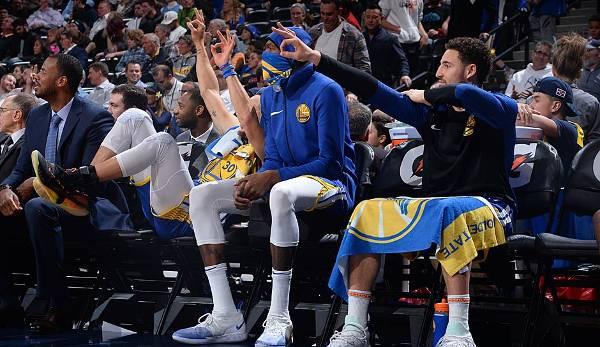 Diashow: NBA - Ranking: Die meisten Punkte im ersten Viertel: Warriors schreiben Geschichte