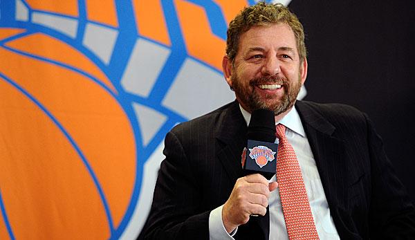 NBA-News: Will James Dolan die New York Knicks verkaufen? MSG dementiert