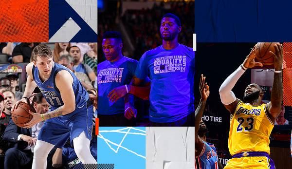 Diashow: NBA - Der Strength of Schedule aller Teams für die restliche Saison 2018/19