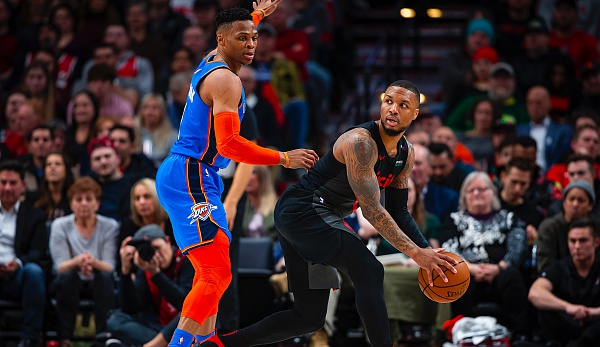 thunder vs trail blazers - photo #9