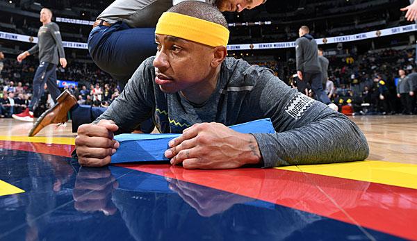 NBA: Isaiah Thomas fliegt bei den Nuggets aus der Rotation: Denver ist nicht Hollywood