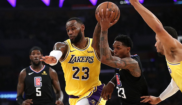 Los Angeles Lakers, L.A. Clippers, NBA, LeBron James