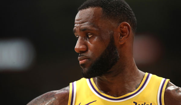 LeBron James hat mit den Lakers in dieser Saison die Playoffs verpasst.