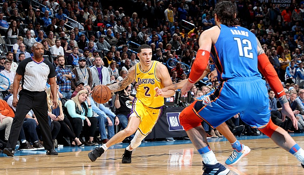 NBA, Lonzo Ball, Los Angeles Lakers