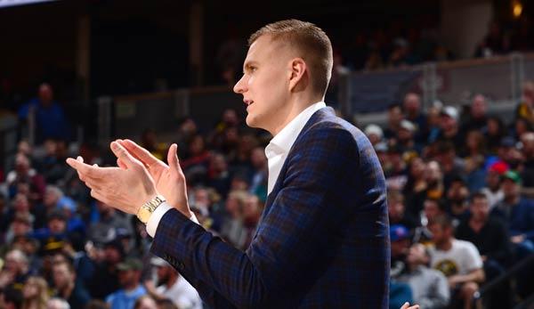 """NBA-News – Kristaps Porzingis über lange Verletzungspause: """"Es ist sehr, sehr schwer"""""""