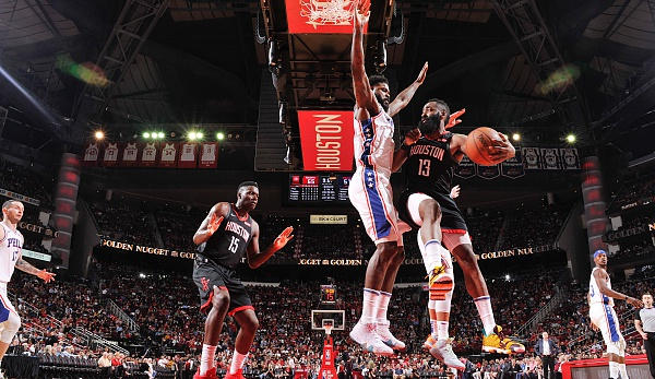 NBA, James Harden, Houston Rockets, Philadelphia 76ers