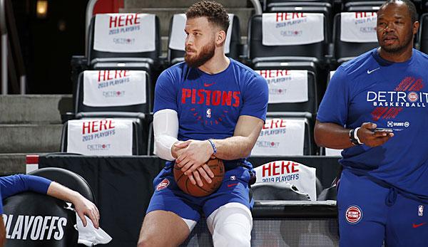 NBA-News: Blake Griffin von den Detroit Pistons erfolgreich am Knie operiert