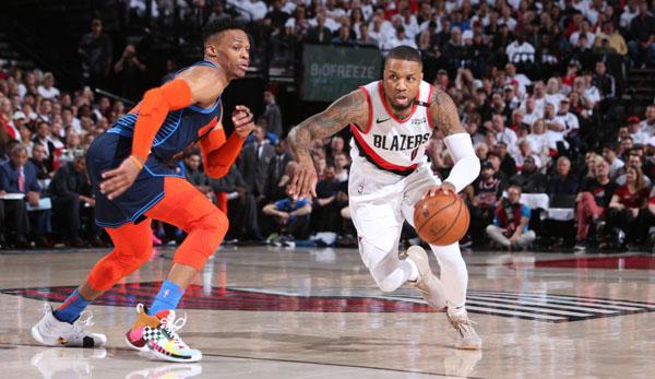 NBA Playoffs: Unfassbar! Damian Lillard erledigt die Thunder mit Buzzerbeater des Jahres