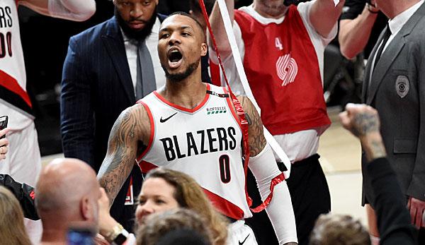 NBA Playoffs - Damian Lillard schickt die OKC Thunder in den Urlaub: Das letzte Wort