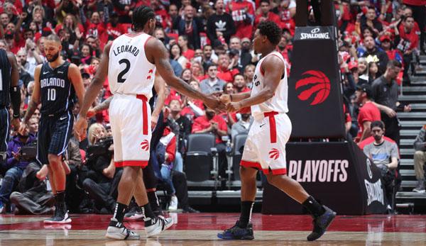 NBA Playoffs: Magic ohne Chance - Raptors spazieren in Runde zwei