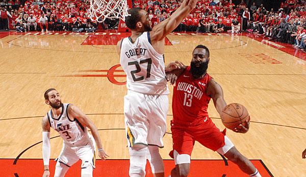 NBA Playoffs: James Harden und die Houston Rockets schicken die Jazz nach hartem Kampf nach Hause