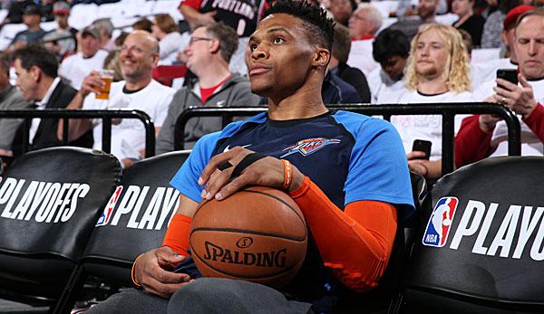 NBA Playoffs - 5 Fragen zum Aus der OKC Thunder: Ist Russell Westbrook das Problem?