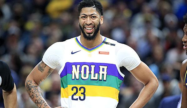 NBA-News: New Orleans Pelicans hoffen auf Verbleib von Anthony Davis
