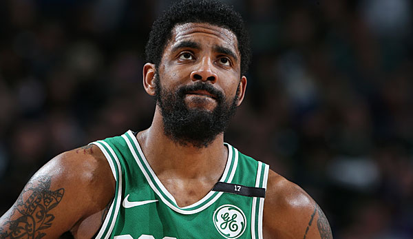 Kyrie Irving wird im Sommer Free Agent.