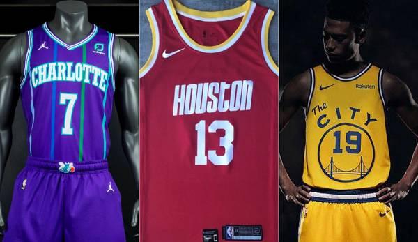 Diashow: NBA - Das sind die neuen Trikots für die Saison 2019/20