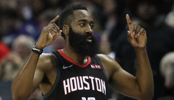 NBA News - James Harden tönt: Jedes Jahr steigt mein Punkteschnitt