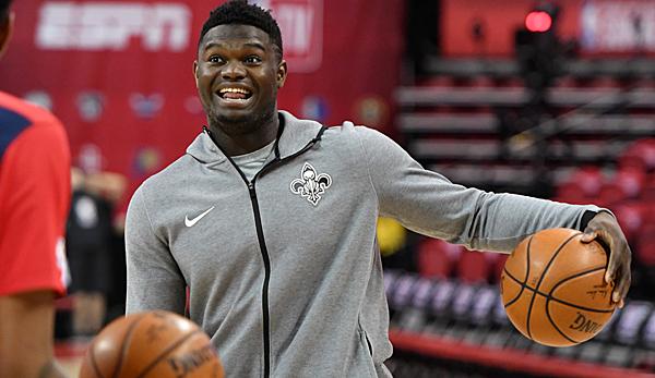 NBA-News - Zion Williamson glücklich bei den New Orleans Pelicans: Können um Championship mitspielen