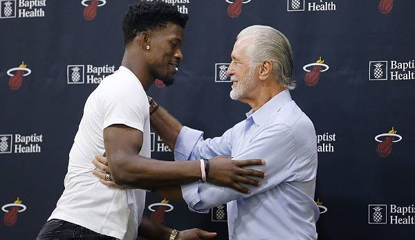 Pat Riley lotste Jimmy Butler nach Miami.